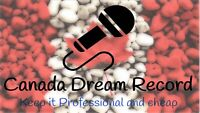 cheapest recording studio with professional microphone