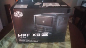 Cooler master computer case.