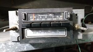 70's Ford/Merc factory AM/FM 8 track player.
