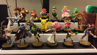 Selling bunch of amiibos, Marth, Pit, Cpt Falcon, Lil Mac, etc