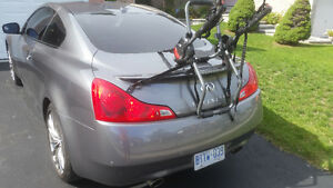 Bike rack for coupe or sedan. Almost new.