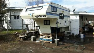 9' vanguard camper with shower and toilet