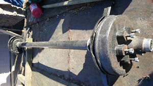 Bulding you Own Trailer this Winter? Axle for Sale! Cambridge Kitchener Area image 2