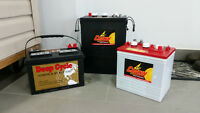 Marine, RV, Solar, Automotive, Golf Cart, Deep Cycle Batteries