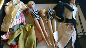 Vintage original ken and barbie lot!!! OMG