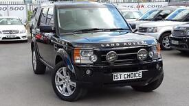2009 LAND ROVER DISCOVERY 3 TDV6 HSE FACELIFT DEMO AND 1 PRIVATE OWNER A STUN