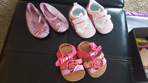 Baby girl shoes bundle