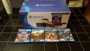 PSVR Bundle with Demo and 2 Games