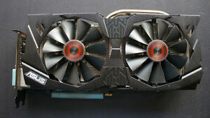 GTX 970 ASUS STRIX 4GB VRAM