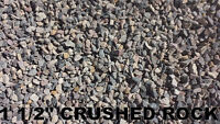 **Crushed Rock - Base Gravel - Sand & More ** Delivery or Pickup