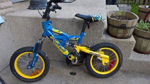 "Supercycle Boy 14"" wheels with shocks"