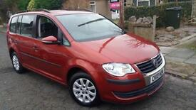 2010 10 VOLKSWAGEN TOURAN 1.9TDI S (105PS) 7 SEATER.LOW MILEAGE,GREAT EXAMPLE.