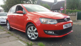 2011 61 VOLKSWAGEN POLO 1.2TDI (75ps) MATCH 5 DOOR.AMAZING COLOUR.ONLY £20 TAX.