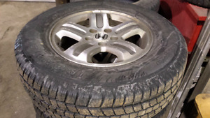 Honda pilot rims and tires
