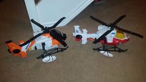 Exciting Large Rescue Helicopters with many gadgets! Delivery