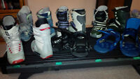 Burton Step-In bindings and boots galore!!