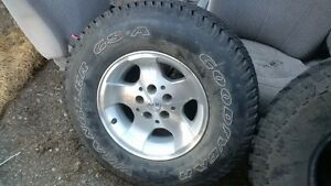 Jeep Rim, and Tire (brand new)