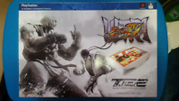 Madcatz SDCC TE2 White Ken Arcade Fight Stick for PS4