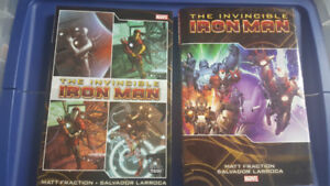 The Invincible Iron Man ~ 2 Hardcover Comics