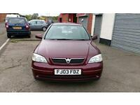 VAUXHALL ASTRA 1.6 LPG GAS CONVERSION BY VAUXHALL 59 PENCE LITRE ECONOMICAL 2003