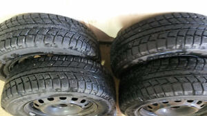 Winter Tires For Sale-$450 OBO-Excellent Condition Kitchener / Waterloo Kitchener Area image 1