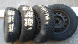 4 Winter tire with rim for sale.
