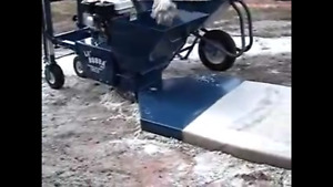 Lil' Bubba Curb machine