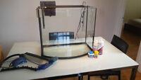 Aquarium a vendre - Fish tank for sale - 160 Nego
