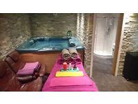 Hot tub and professional massage Watford