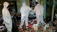 Nettoyage maison extreme insalubre et syndrome diogène