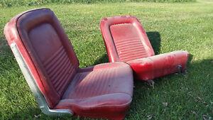 Mustang bucket seats
