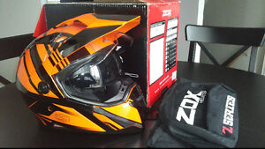 Casque KTM Orange Z-DS10 ZOX, Large, Neuf.