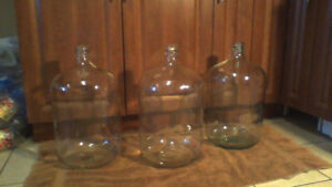 Carboys $18 ea or 2 / $35 (WOW) 5 Gal / 20L