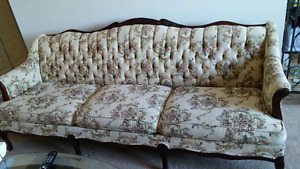 Couch and chair  Matching  Antique  quality