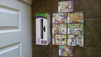 Xbox 360 Kinect w/ lots of games
