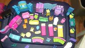 Polly pocket furniture and lots more