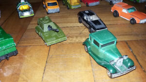 Vintage 1970s Matchbox Lesney cars