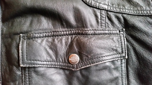 Leather Harley Jacket 3xl  Trade for 2xl