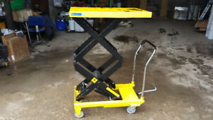 660lbs Hydraulic Scissor Lift Cart