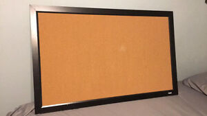 cork board (bulletin board)