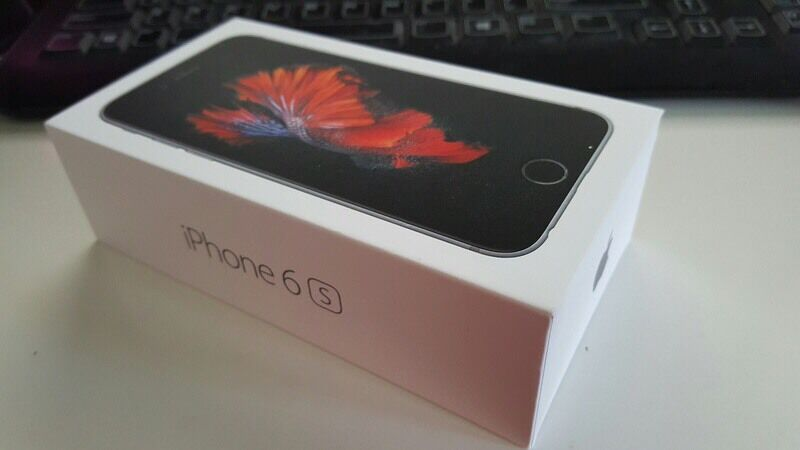 iPhone 6S Brand New Boxedin Derby, DerbyshireGumtree - iPhone 6S 16GB Space Grey O2/Tesco/Giffgaff easy unlockBrand New Boxed Complete With Unused Accessories Included Call or text anytime