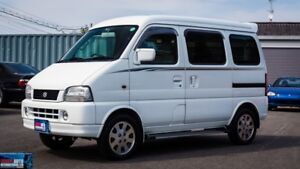 Tiny Suzuki Every Plus JDM  7 passenger& sleeper van LOW KLMS