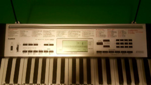 Casio 61 Key Lighted Electric Keyboard with Stand