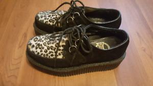 Demonia 2inch platform shoes