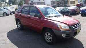 2006 kia sportage 4 cyl limited with leather