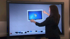 """70"""" Smart Board 8070i TV has Optional Touch Screen Capabilities"""