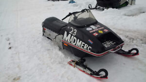 1976 Merc Trail Twister 340 Ice Oval Racer