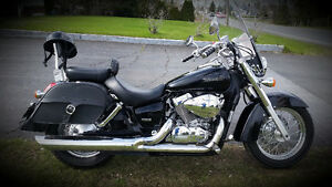 Honda Shadow Aero 2005 black