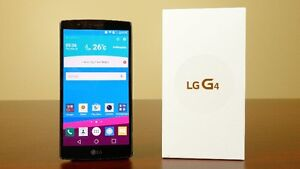 (FIDO/ROGERS) 32GB LG G4 INCLUDE BOX + CHARGER + OTTER BOX CASE