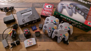 Nintendo 64 - Complete in Box + Collection